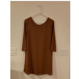 JELLA C Brown Tunic